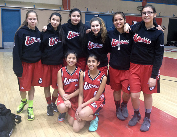UWinnipeg Collegiate Junior Varsity Girls basketball team